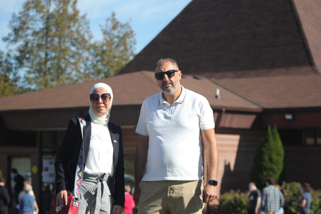 Nerveen Kardan and Imad Mahfouz